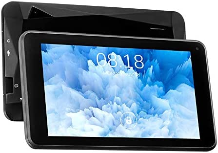 TJD MT-701QU 7 inch Tablet,Android 10.0,1GB RAM 16GB ROM,Front 0.3MP, Rear 2.0MP Camera,Bluetooth,WiFi,G-Sensor,Diamond Shaped Designed Back,Black