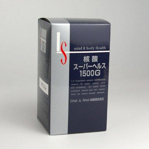 核酸スーパーヘルス1500G B003RT5AWO