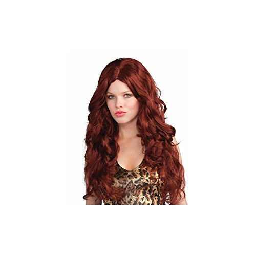 Franco American Novelty Company Deluxe Red Sultry Wig Adult ()