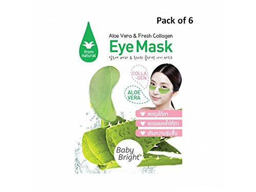 Winkies Costume (Eye Mask Aloe Vera & Fresh Collagen,Wrinkles,Eliminate Dark Circle,Shrink eye bags and brighten from 100% Natural (Pack of 6))