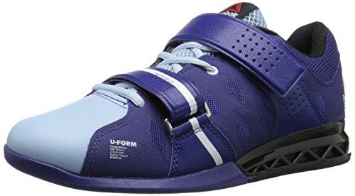 (Reebok Women's Crossfit Lifter Plus 2.0, Night Beacon/Zee Blue/Black/White, 10 M US)