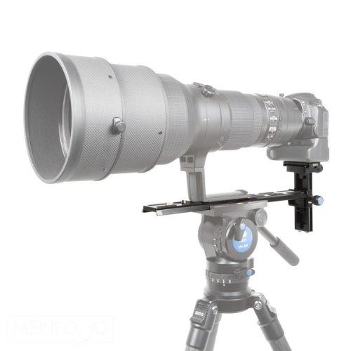 aluminio, 1//4 y 3//8, riel: 35/cm, 0,58/kg, carga m/áxima: 10/kg Riel para objetivo para VH-20 y VH-90 Sirui VH-350