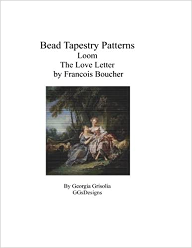 Bead Tapestry Patterns Loom The Love Letter by Francois Boucher