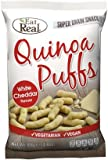 Cheap Eat Real Quinoa Puffs Cheese Flavour 113g (Pack of 12)