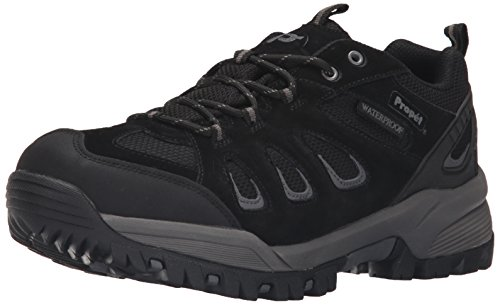 Propet Men's Ridge Walker Low Ankle Bootie, Black, 11.5 5E US - Walker Men Widths Available Shoes