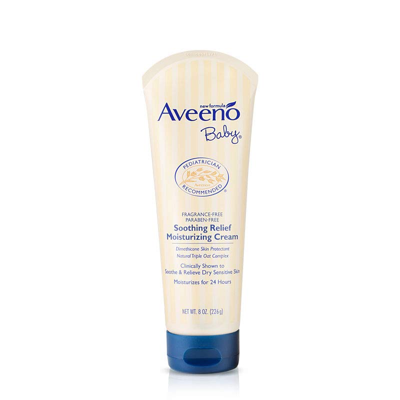Aveeno Baby Soothing Relief Moisturizing Cream for Dry Sensitive Skin