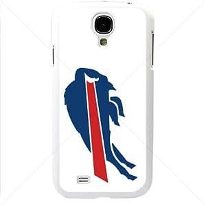 NFL American football Buffalo Bills Fans Samsung Galaxy S4 SIV I9500 TPU Soft Black or White case (White)
