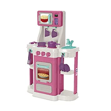 amazon com my first cookin kitchen pink toys games rh amazon com my first cookin kitchen instructions my first cookin kitchen pink