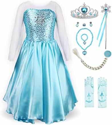 ReliBeauty Little Girl's Princess Fancy Dress Costume