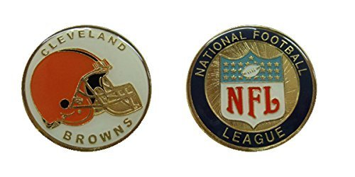 Collectible Challenge Coin- Logo Poker- Lucky Chip for Browns