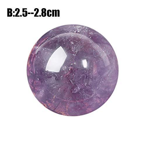 Purple Amethyst Ball - 3