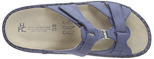 Azul Zuecos Para Blau avio Mujer 45 Hans Herrmann Collection Hhc xvItwYqBRn