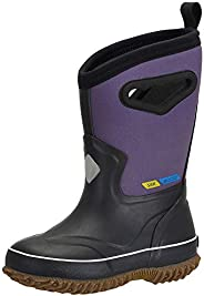 MCIKCC Kids Rain Boots, Waterproof Rain Boots Rubber Kids Boots No-Slip for Boys Girls Toddler