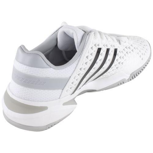adidas Barricade 8+ Herren Tennisschuh Weiß