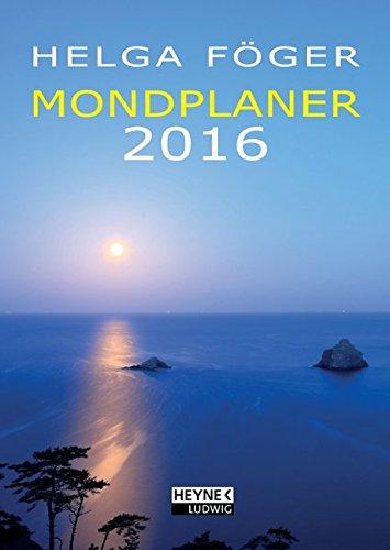 Mondplaner 2016: Taschenkalender