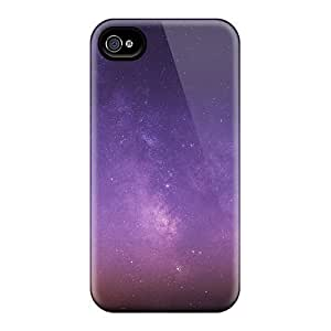 Durable Case For The Iphone 4/4s- Eco-friendly Retail Packaging(amazing Milky Way)