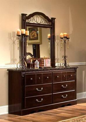 Standard Furniture 4009A Sorrento Dresser & by Standard Furniture
