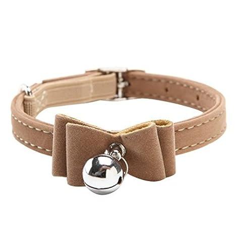 Jellbaby collare campana Bowknot collare lovely piccolo cane gatto collare