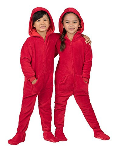 Footed Pajamas - Heatwave Toddler Hoodie Chenille - Extra Large