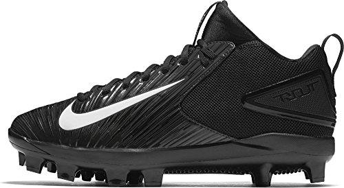d0437c1e8 Nike Men s Trout 3 Pro MCS Baseball Cleat Black White Size 13 M US