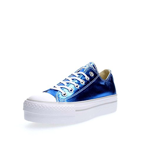 Donna Sportive Platform Ct Converse Scarpe As Met Blu Canvas Ox YHwUx