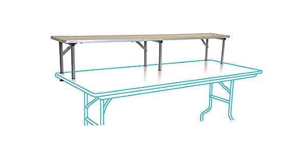 Amazon.com: Mesa plegable Riser – Seis pies de calidad ...