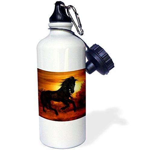 Running Horses Water Bottle - 3