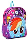 My Little Pony 3D Molded 16' Backpack Large Purple