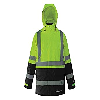 Amazon.com: Viking - D6455JG-XXXL - Rain Jacket, 3XL, Grn/Blk ...