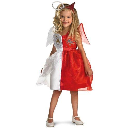 Half Angel Half Devil Costume - Girls Halloween Costume - Funtober
