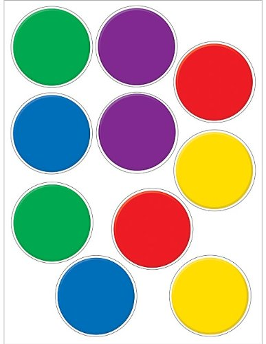Teacher Created Resources Colorful Circles Accents Packs - Accents Colorful Circles