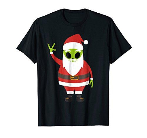 Funny Alien Emojis Christmas Shirt