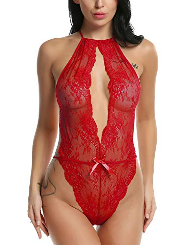 Santa Sexy Outfits - Avidlove Sexy Lingerie for Women Teddy