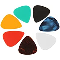 SunSunRise 100 Mixed Acoustic Electric Guitar Picks Plectrums NEW