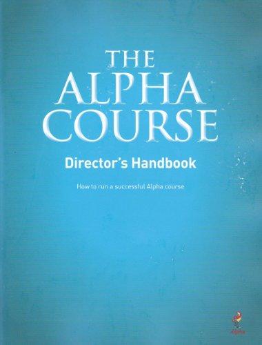 Alpha Course Director's Handbook