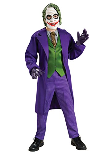 Rubie's Big Boys' Deluxe Joker Costume X-Large Purple