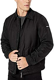 A|X Armani Exchange Men's Zip Up Bomber Style Jacket with Co