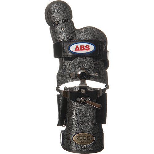 アメリカン ボウリング サービス ロボリスト 右用 ブラックシルバー BK/SI ラージ B00D7J892W