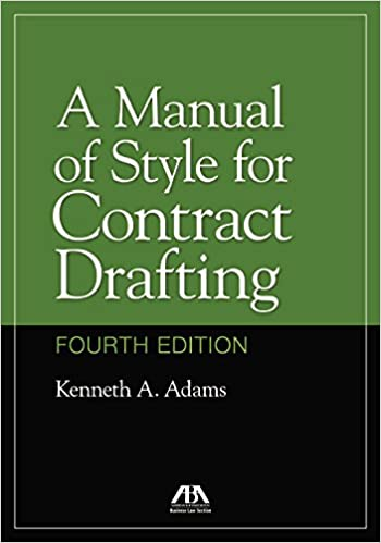 Contract Drafting Book