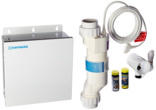 - Hayward Goldline AQR3 AquaRite Electronic Salt Chlorination System for In-Ground Pools, 15,000-Gallon Cell