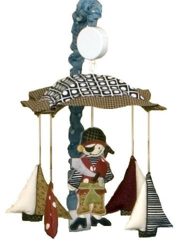 Cotton Tale Designs Pirates Cove Musical Mobile (Pirates Nursery Cove)