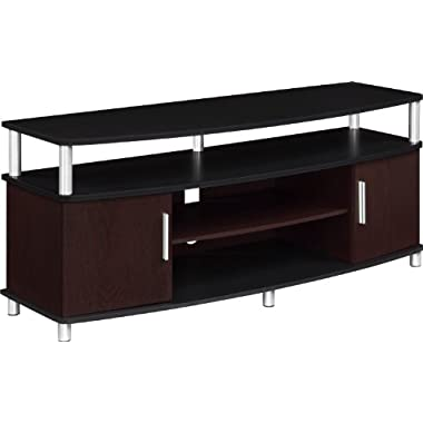 Altra Carson 50  TV Stand, Cherry/Black