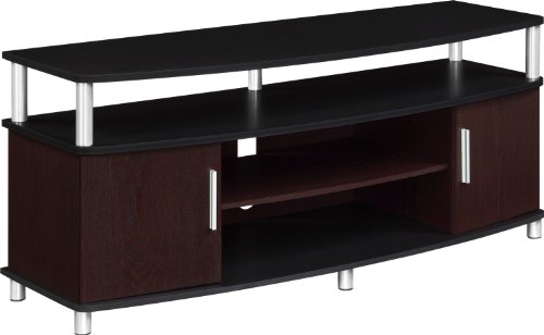 Altra Furniture Carson TV Stand For TVs up to 50-Inches BlackCherry