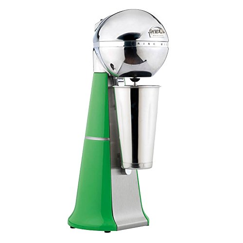- Automatic Commercial Milkshake Mixer by ARTEMIS MIXER, Automatic Model RETROA-2001/A Cabbage,adjusts all size cups from 11-18cm, HANDMADE POLISHED HEAD,16 Colours, with inox cup & spare agitator