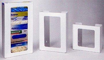 3-Box vertical caja de plástico dispensador de guantes, color blanco Heavy-duty
