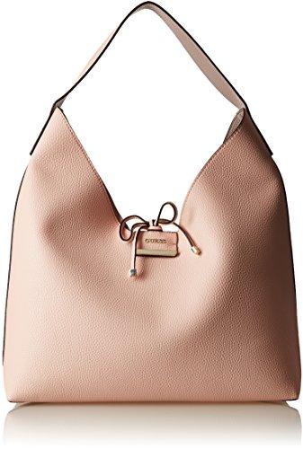 Guess Bobbi, Sacs portés épaule femme, Grigio (Cameo Grey), 14x40x40 cm (W x H L)