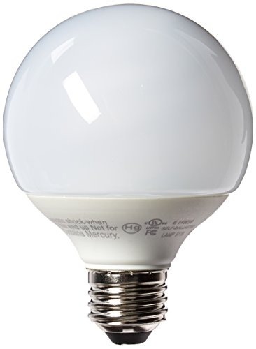 TCP 2G2514 14-watt G25 Globe CFL, 2700-Kelvin