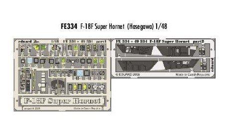 Eduard Accessories-FE334Model-Making Accessory Mcdonnell Douglas F 18°F Super Hornet