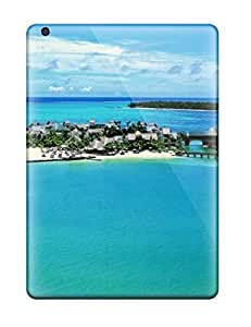 Anti-scratch And Shatterproof Bali Beach245747 Phone Case For Ipad Air/ High Quality Tpu Case