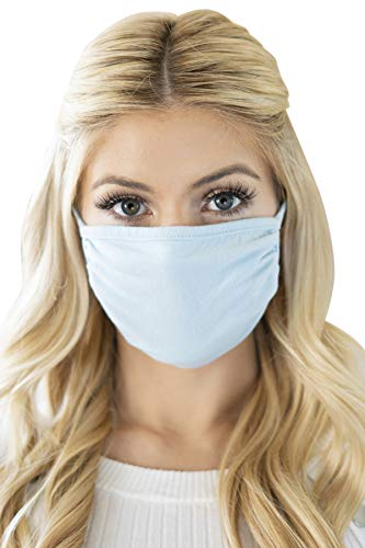Reusable Fabric Face Mask Unisex Washable Covering – Cute Print Cloth Comfy Breathable Adjustable Mouth Protection Men…